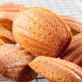 Classic French madeleines 120x120 - Apple and cinnamon madeleines