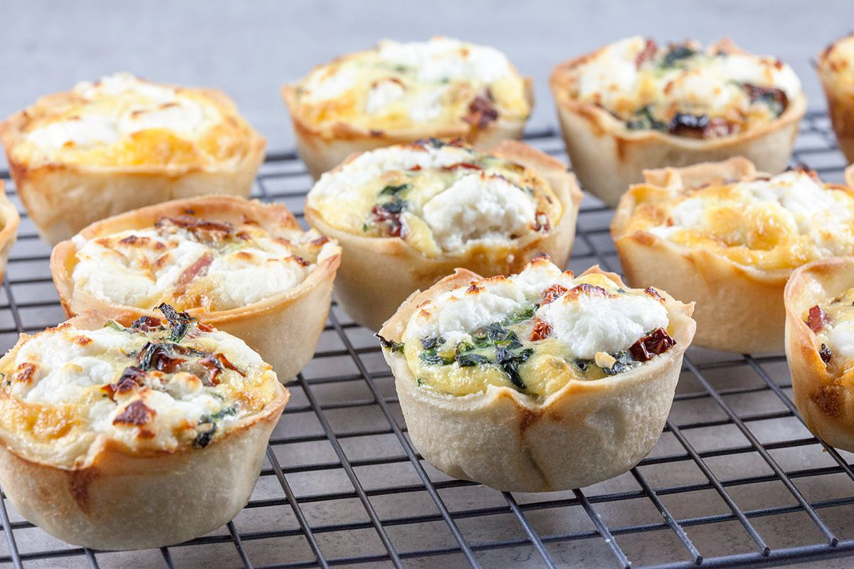 Mini quiches - ohmydish.com
