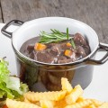 Wild boar stew 120x120 - Dutch sour meat stew (Limburgs Zoervleisj)