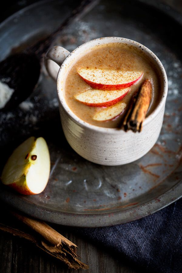 Cinnamon apple atole