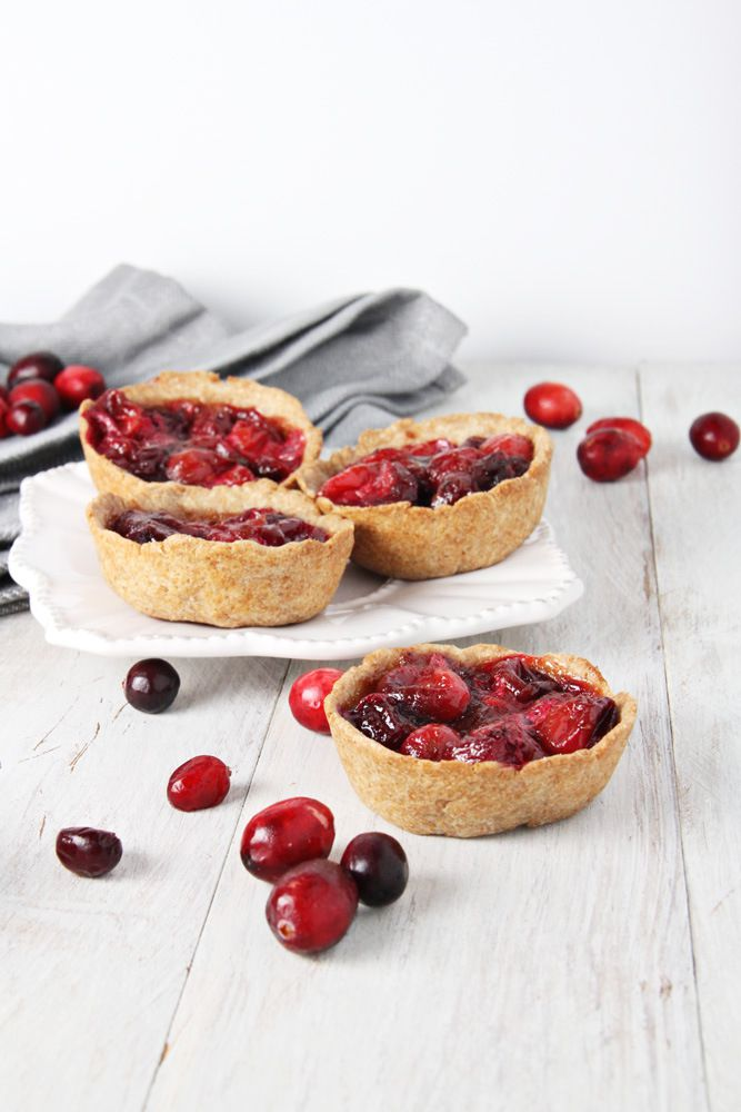 Cranberry mini pies
