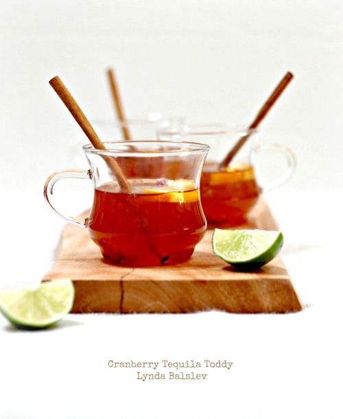 Cranberry tequila toddy