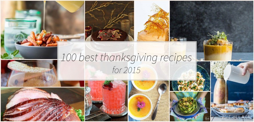 100 thanksgiving recipes for 2015