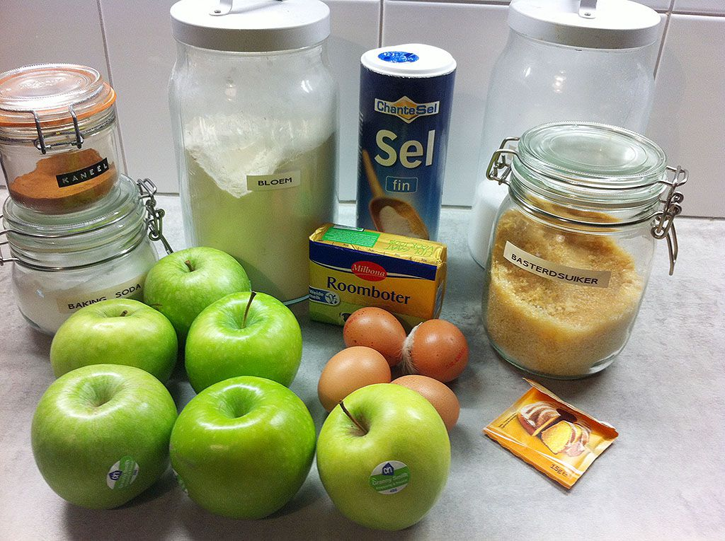 Apple cinnamon bundt cake ingredients