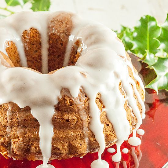 Apple cinnamon bundt cake square - Apple cinnamon bundt cake
