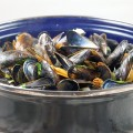 Dutch mussels 120x120 - Paella