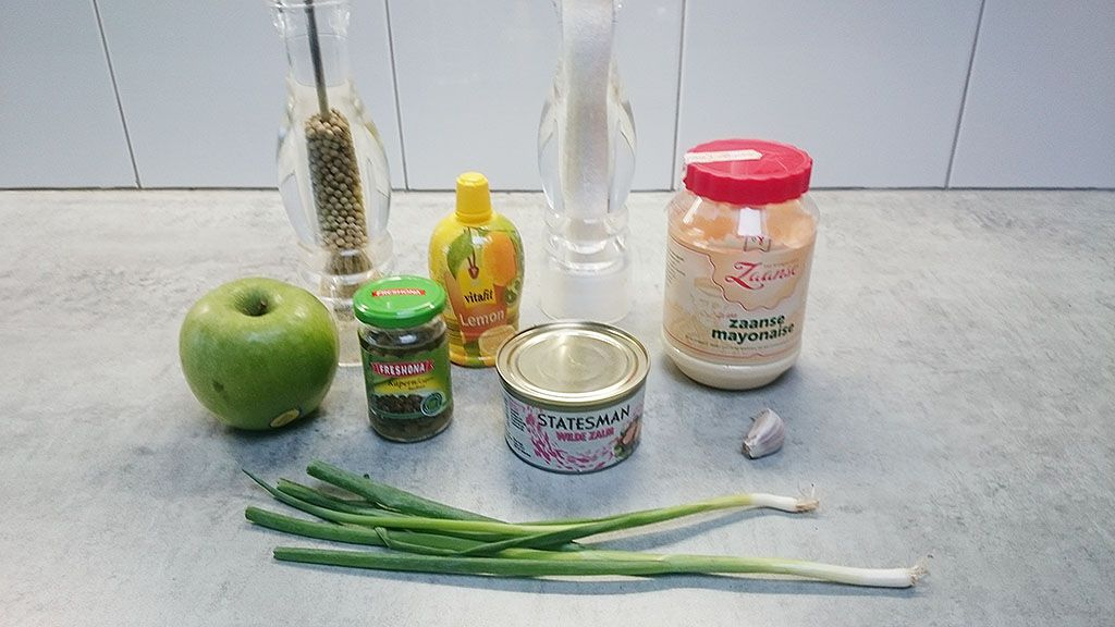 Salmon spread ingredients - Salmon spread