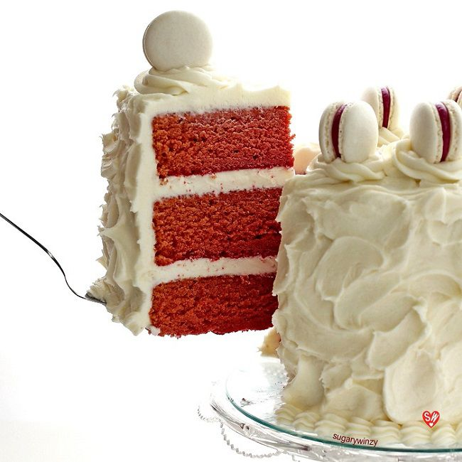 Naturally Red Velvet Cake with Cream Cheese Frosting