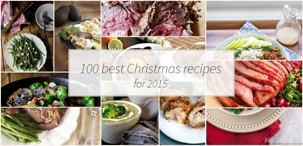 100 best Christmas recipes for 2015