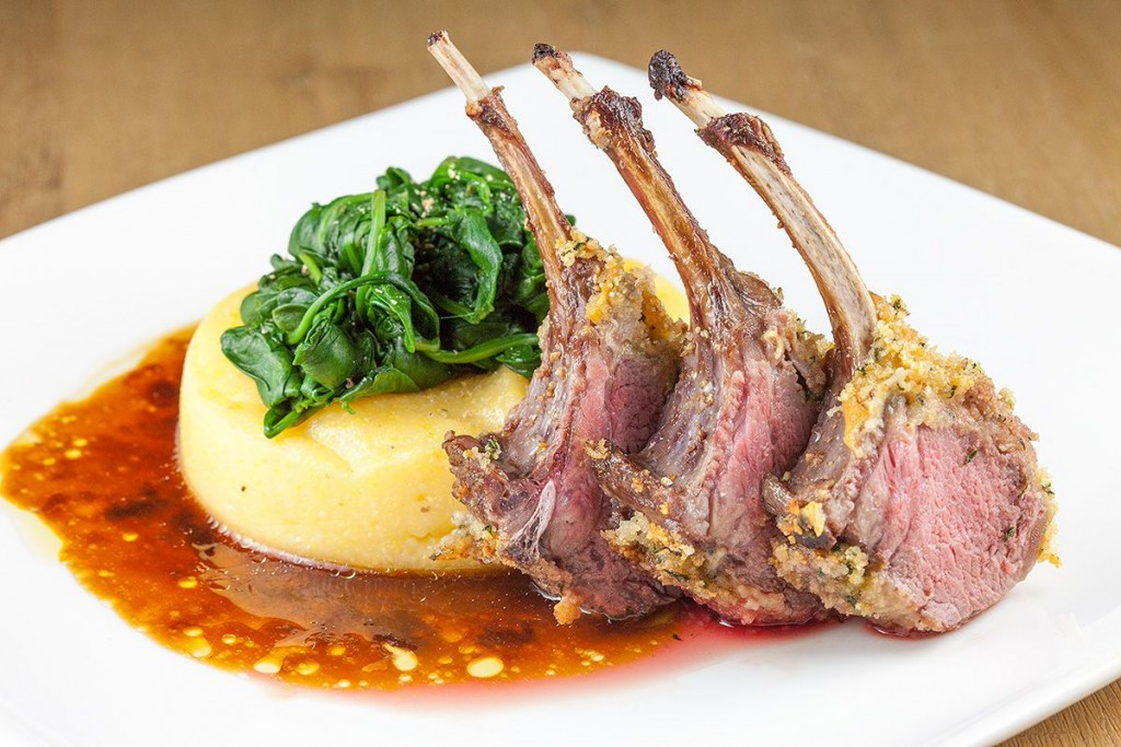 Herb crusted rack of lamb - ohmydish.com