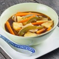 Japanese pineapple udon noodle soup 120x120 - Easy chicken soup