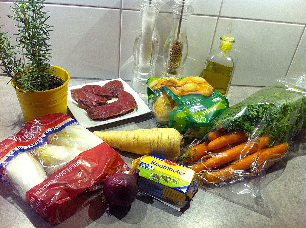 Kangaroo steak ingredients - Kangaroo steak