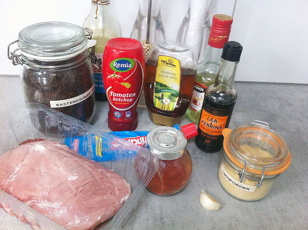 Pulled pork sandwich ingredients - Pulled pork sandwich