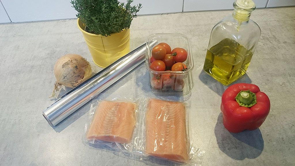 Salmon baked in foil ingredients