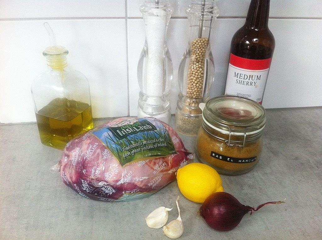 Slow cooked boneless leg of lamb ingredients