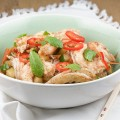 Asian noodle and shrimp salad 120x120 - Baby pineapple shrimp salad