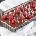 Chocolate tart with raspberries 120x120 - Banoffee pie