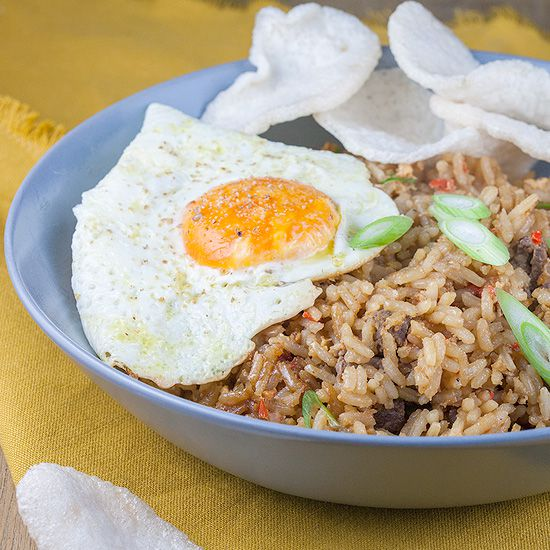 Indonesian nasi goreng square - Indonesian nasi goreng