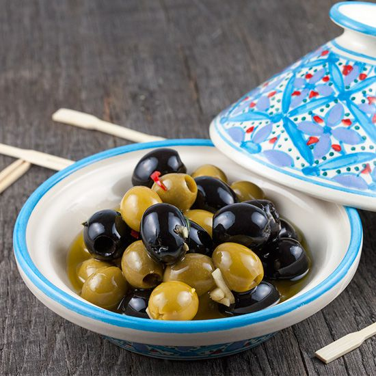 Overnight marinated olives square - Overnight marinated olives