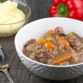 Slow cooker beef stew 120x120 - Dutch sour meat stew (Limburgs Zoervleisj)