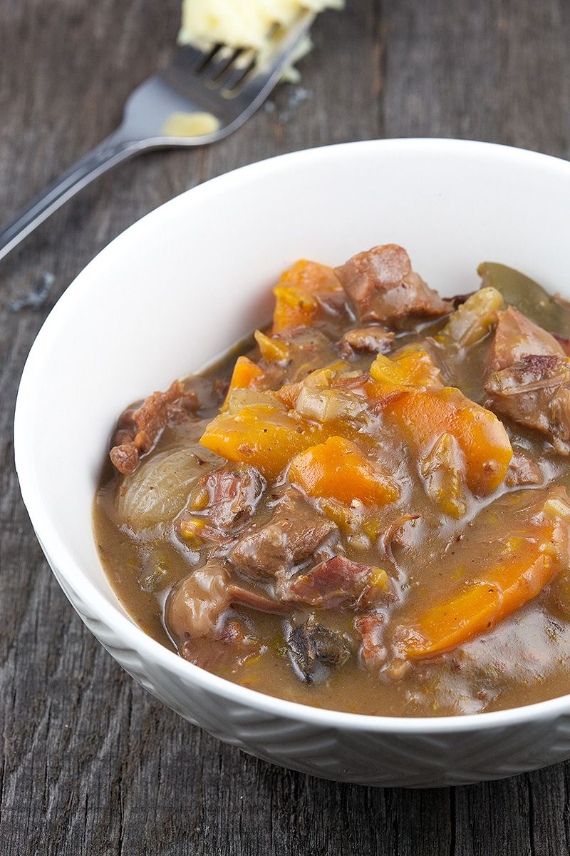 Slow cooker beef stew 2 - Slow cooker beef stew