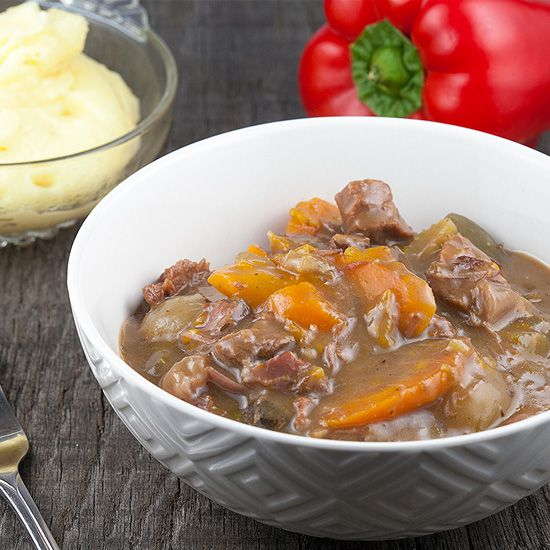 Slow cooker beef stew square - Slow cooker beef stew