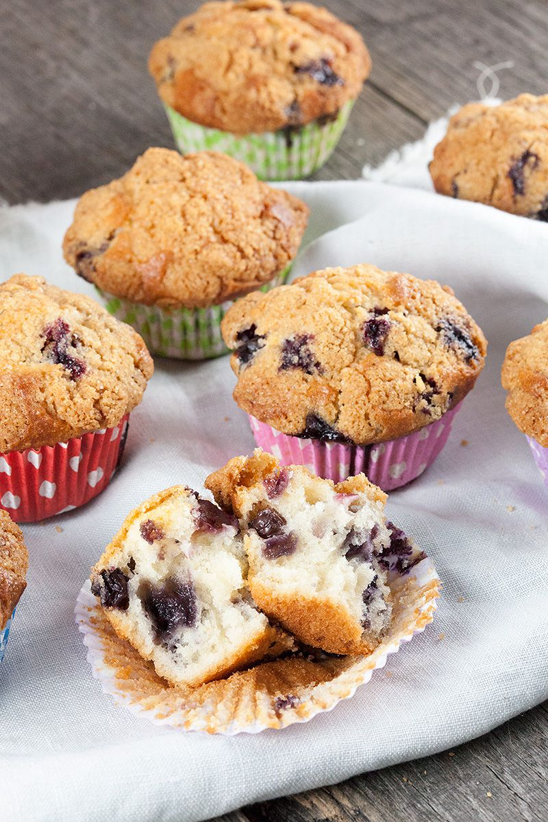 Buttermilk blueberry muffins 2 - Buttermilk blueberry muffins