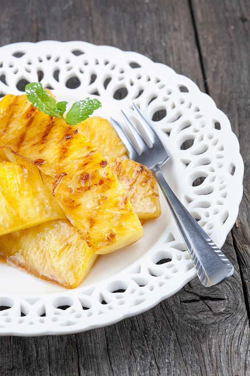 Grilled pineapple 2 - Grilled pineapple