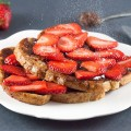 French toast with homemade nutella and strawberries 120x120 - Homemade Nutella