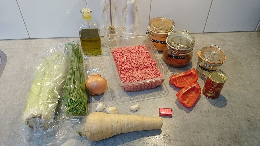 Mexican beef casserole ingredients