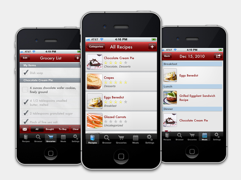 3 Apps to Help Manage Your Recipe Collection