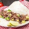 Slow cooker pork carnitas 120x120 - Pulled pork sandwich