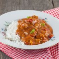 Slow cooker pork goulash 120x120 - Slow-cooked rabbit with dates and beer