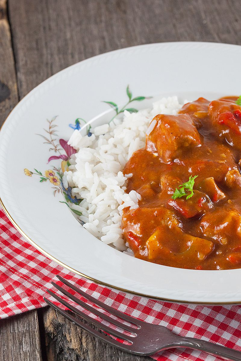 Slow cooker pork goulash 2 - Slow cooker pork goulash