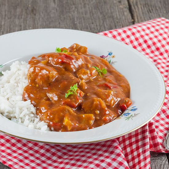 Slow cooker pork goulash square - Slow cooker pork goulash