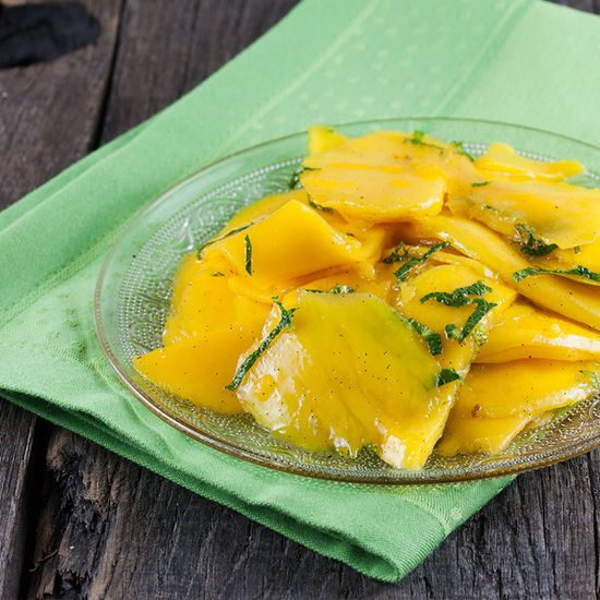 Sugar free mango slices