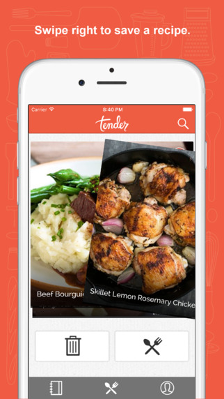 Tender app - 3 Apps to Help Manage Your Recipe Collection