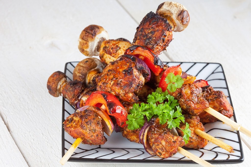 BBQ chicken shashlik