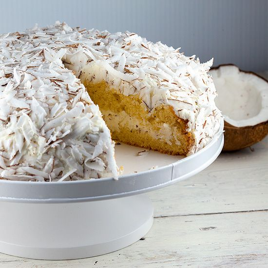 Coconut pie square - Coconut pie