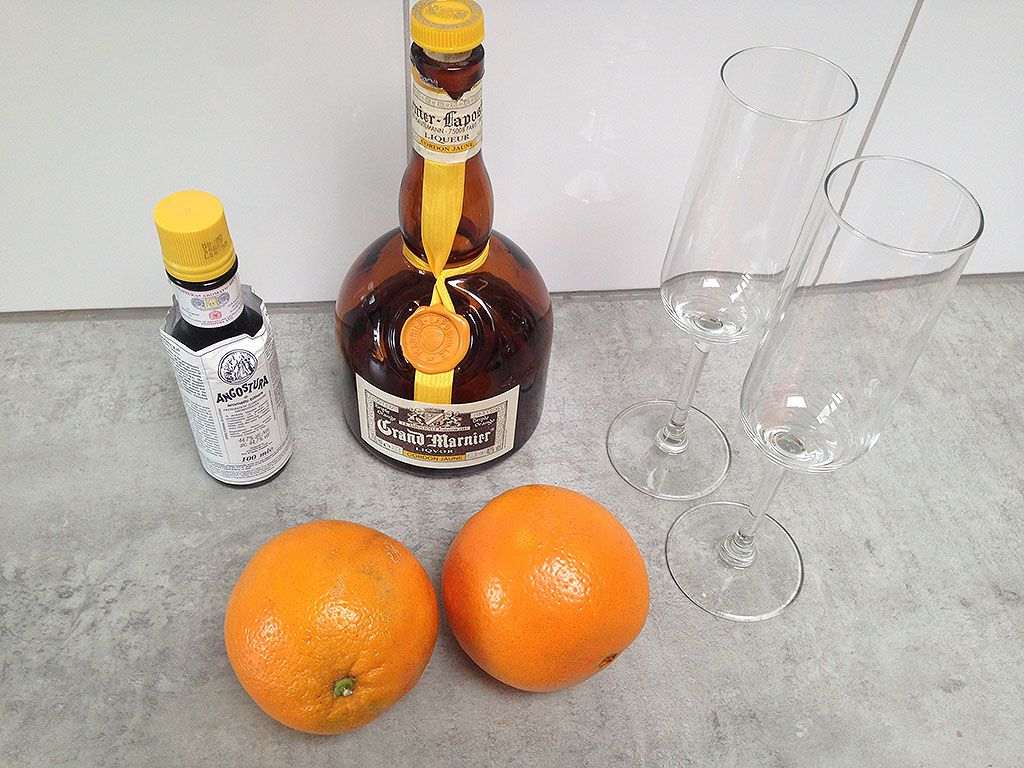 Grand Marnier cocktail ingredients - Grand Marnier cocktail