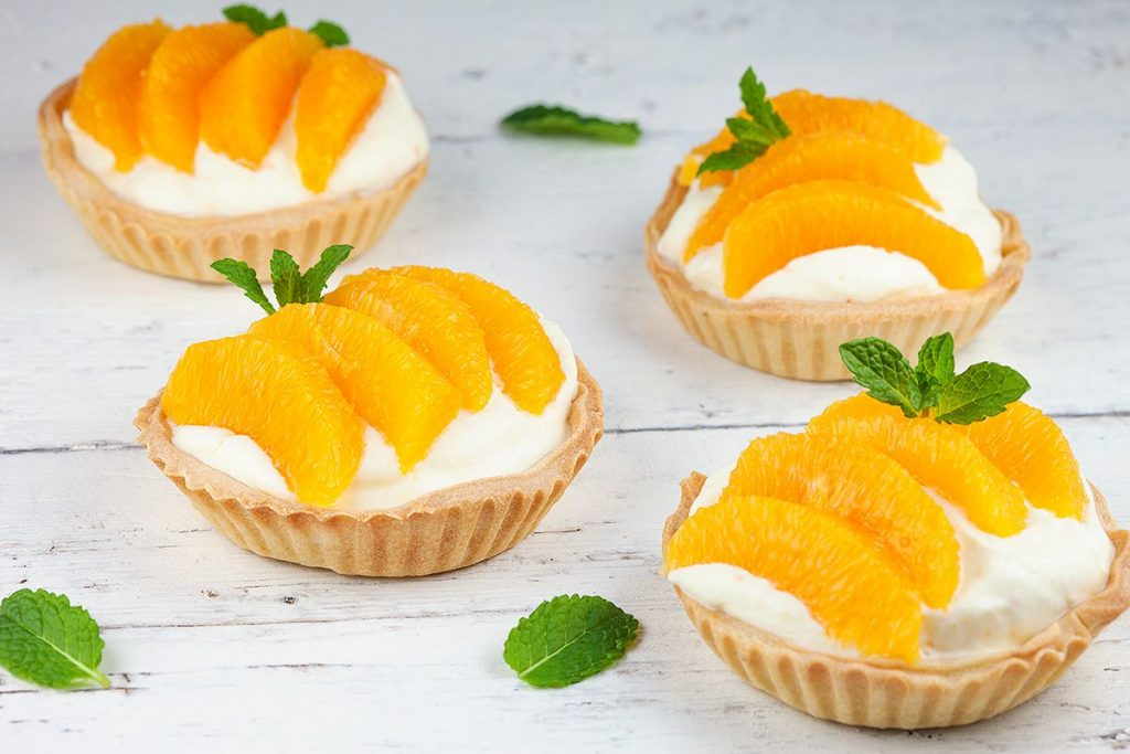 Mini orange pies