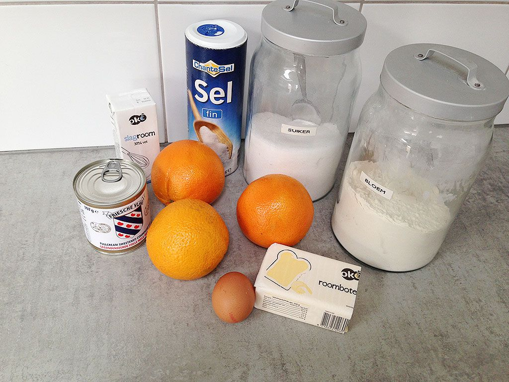 Mini orange pies ingredients - Mini orange pies