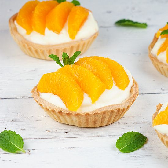 Mini orange pies square - Mini orange pies