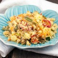 Vegetarian couscous with apple and green beans 120x120 - Curried green beans with cashews