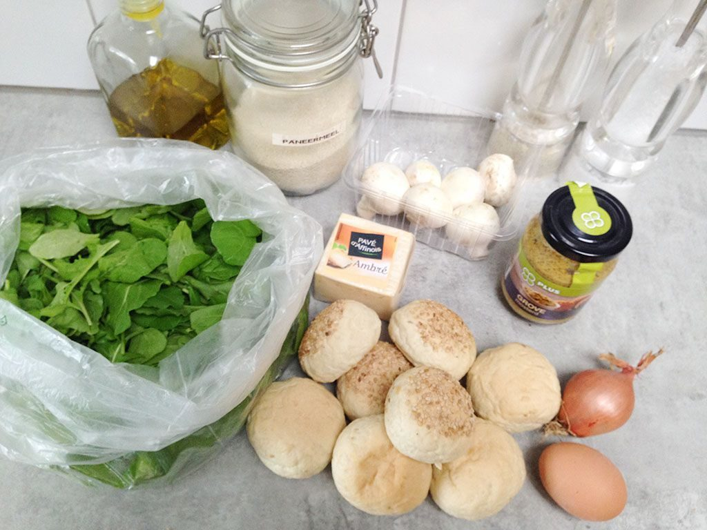 Carre dambre mini hamburgers ingredients 1024x768 - Carre d'ambre mini hamburgers