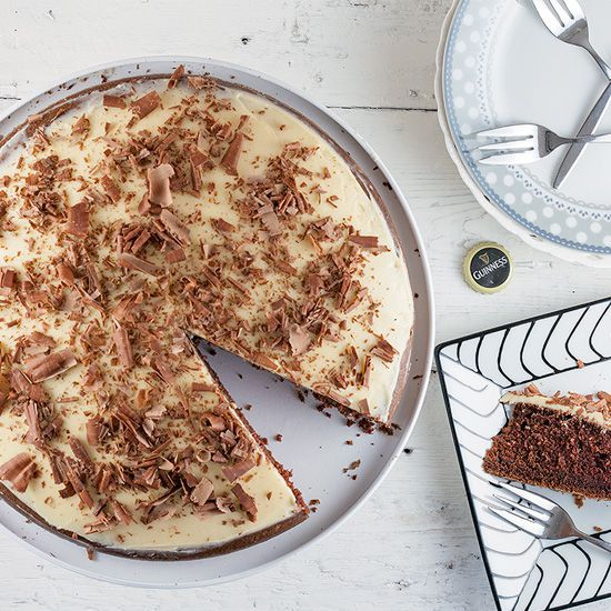 Guiness and chocolate pie square - Guinness and chocolate pie