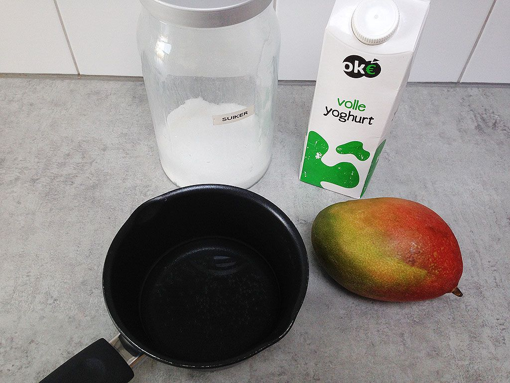 Mango frozen yoghurt ingredients