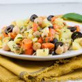 One pot vegetarian chickpeas and veggies 120x120 - Vegetarian black-eyed pea stew