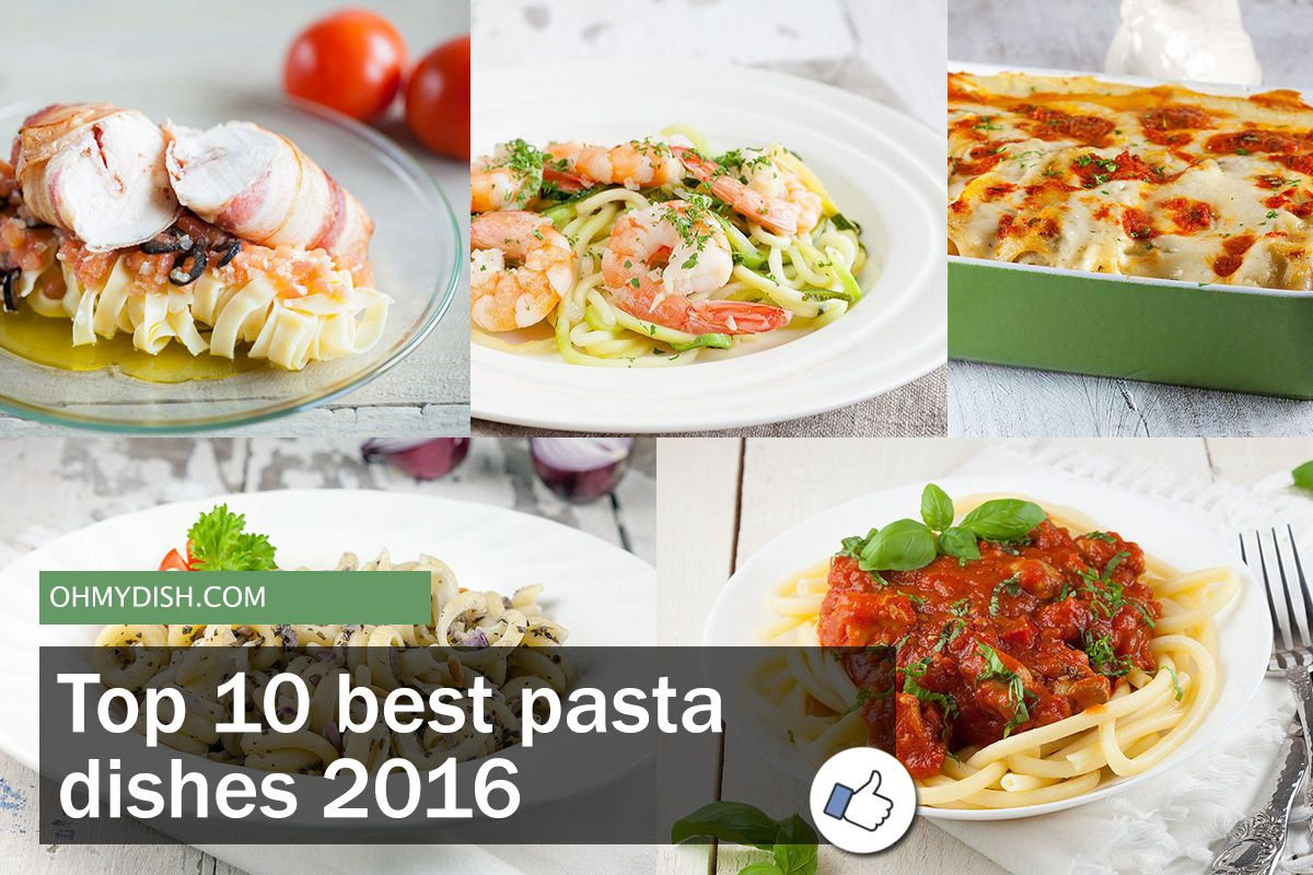 Top 10 best pasta dishes | 2016
