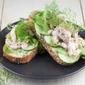 Smoked mackerel and dill sandwich 120x120 - Smoked mackerel and sweet potato pasta